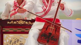 Morin Khuur, Mongolian bowed stringed instrument. Stock Images
