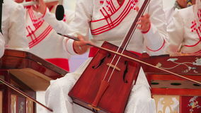 Morin Khuur, Mongolian Music Performance Royalty Free Stock Photography