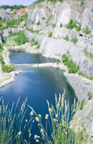 Morina quarry 3. Former limestone qarry Morina ,central Czech Republic Royalty Free Stock Photos