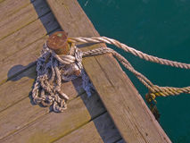 Moring rope Stock Images