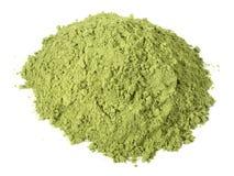 Moringa σκόνη - υγιής διατροφή στοκ εικόνες