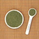 Moringa oleifera Herb Powder Foto de Stock Royalty Free