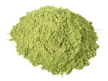 Moringa pulverisieren - gesunde Nahrung stockbilder