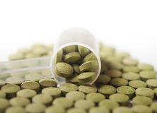 Moringa tablets Stock Photography