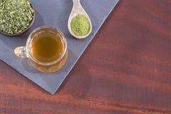 Moringa thee - oleifera Moringa Stock Afbeeldingen