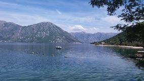 Morinj, Μαυροβούνιο στοκ φωτογραφία