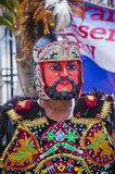 2018 Moriones Festival. BOAC , PHILIPPINES - MARCH 30 : Participant in the Moriones festival in Boac Marinduque island the Philippines. The Moriones festival Royalty Free Stock Image