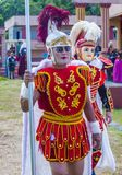 2018 Moriones Festival. BOAC , PHILIPPINES - MARCH 30 : Participants in the Moriones festival in Boac Marinduque island the Philippines. The Moriones festival Stock Images