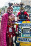 2018 Moriones Festival. BOAC , PHILIPPINES - MARCH 30 : Participants in the Moriones festival in Boac Marinduque island the Philippines. The Moriones festival Royalty Free Stock Photos