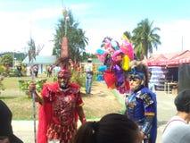 Moriones-Festival Marinduque lizenzfreie stockbilder