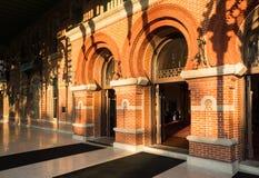 Morisk arkitektur av universitetet av Tampa royaltyfri bild