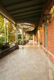 Morisk arkitektur av universitetet av Tampa Arkivbild