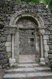 Morisk slott i Sintra Arkivbilder