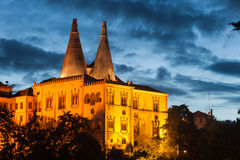 Morisk slott i Sintra Royaltyfri Bild