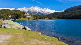 Moritz, die Schweiz stockfoto