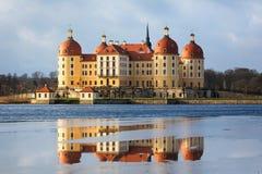 Moritzburg城堡 免版税库存照片