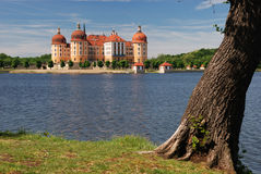 Moritzburg. Famous hunting lodge of august dem Starken in Moritzburg near by dresden Stock Photos