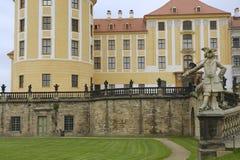 Moritzburg castle in late spring, Saxony, Germany Stock Photos