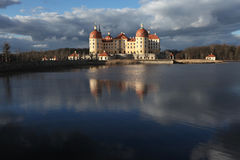 Moritzburg Castle near Dresden, Germany. Stock Photography