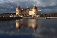 Moritzburg Castle near Dresden, Germany. Stock Photo