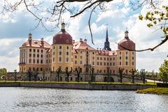 Moritzburg Castle panorama Stock Photos
