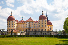 Moritzburg Castle, residence of the Electors of Saxony House of Wettin Stock Photo