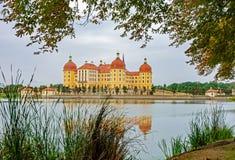 Moritzburg castle in Saxony royalty free stock photo