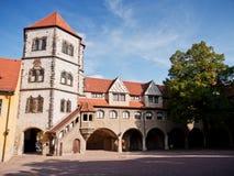 Moritzburg, Halle, Niemcy obrazy royalty free