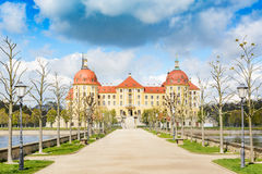 Moritzburg Kasztel Obrazy Stock