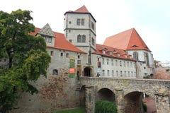 Moritzburg kasztel w Halle Fotografia Stock