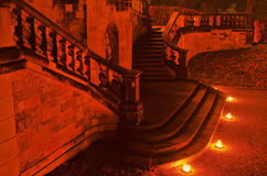 Moritzburg Little Pheasant Castle stairs Royalty Free Stock Photos
