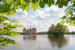 Moritzburg-Schloss (Deutschland) Lizenzfreie Stockfotos
