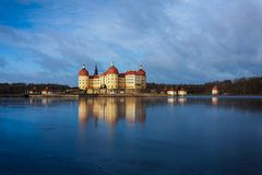Moritzburg slott Royaltyfria Foton