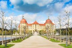 Moritzburg slott Arkivbilder