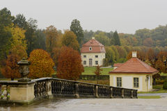 Moritzburg slott, Sachsen, Tyskland Royaltyfri Fotografi