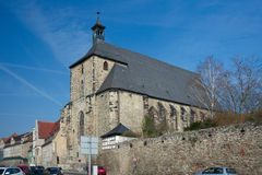 Moritzkirche, Halle, Germany Royalty Free Stock Images