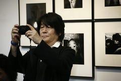 Moriyama Daido, Fotograf Lizenzfreies Stockfoto