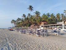 Morjim plaża, Goa, India obraz royalty free