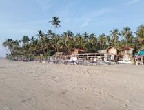 Morjim plaża, Goa, India fotografia royalty free