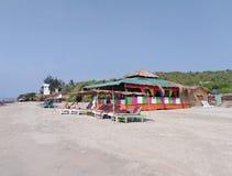 Morjim plaża, Goa, India zdjęcia royalty free