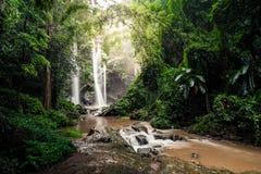 Mork fah waterfall Stock Photography