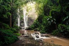 Mork fah waterfall Stock Images