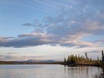 Morley湖 免版税库存图片