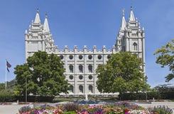 Mormon świątynia - Salt Lake świątynia, Utah Zdjęcia Stock
