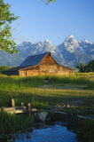 Mormon Barn Stock Photo