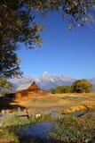 Mormon barn Stock Photo
