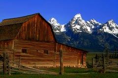 Mormon Barn Royalty Free Stock Image
