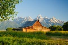 Mormon barn Royalty Free Stock Images