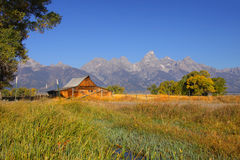 Mormon barn Stock Images