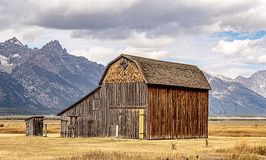 Mormon Barn royalty free stock photos